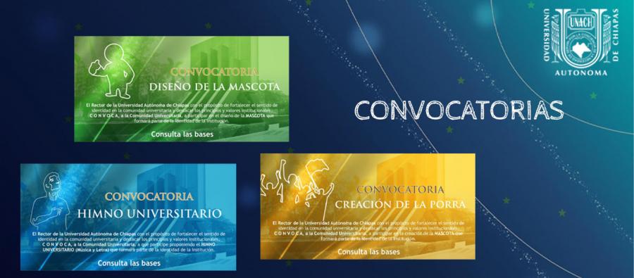 UNACH CONVOCA A CREAR HIMNO, PORRA Y MASCOTA UNIVERSITARIA