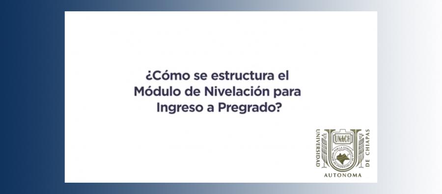 ¿Estudias actualmente el Módulo de Nivelación para Ingreso a Pregrado?