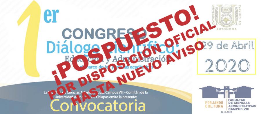1er. Congreso Diálogo Científico: Educación y Administración